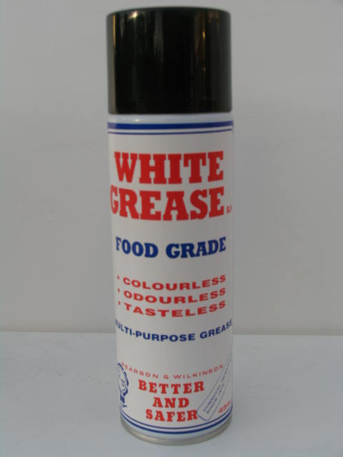 White grease food grade multi role grease electric for Grease for electric motors