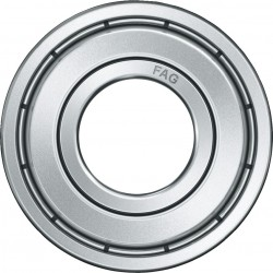 FAG Bearings-6307-2Z-C3 DEEP GROOVE BALL BEARING-Shielded