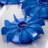 BLUE FAN SIZE 160 (Diam 298 mm x H 56mm)