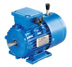Motors-Direct 1.1kw 2 Pole 3 Phase Induction Brake Motor C/W Hand Release