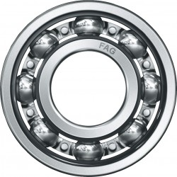 FAG Bearings-6307-C3 DEEP GROOVE BALL BEARING-OPEN