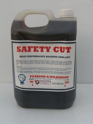 Safety Cut  /  The ultimate in flood applied metal working lubricants