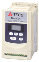 Teco Minicon Microdrive 0.4Kw 2.3Amps 1PH 240v IP20