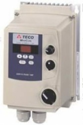 Teco Minicon Plus Microdrive 2.2Kw 5.2Amps 3PH 415v IP65 with switches