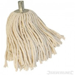 Pure Yarn Mop / SUPPLIED WITH A SOLID WOOD POLE