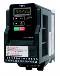 Teco L510.   0.75kw (1hp). single phase. 1ph - 3ph. With Filter.